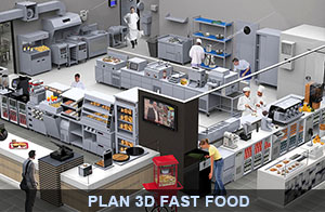 Zoom sur l'aménagement d'une cuisine professionnelle